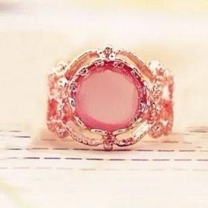 Jewelry - Gold Filled Pink Ring